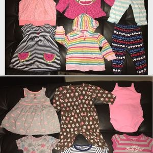 Other - 12ps 6 months baby girls clothing-bodysuit/jacket